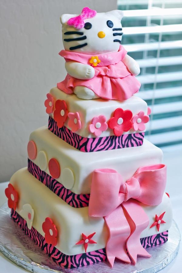 Hello Kitty Cakes Decoration Ideas Little Birthday Cakes