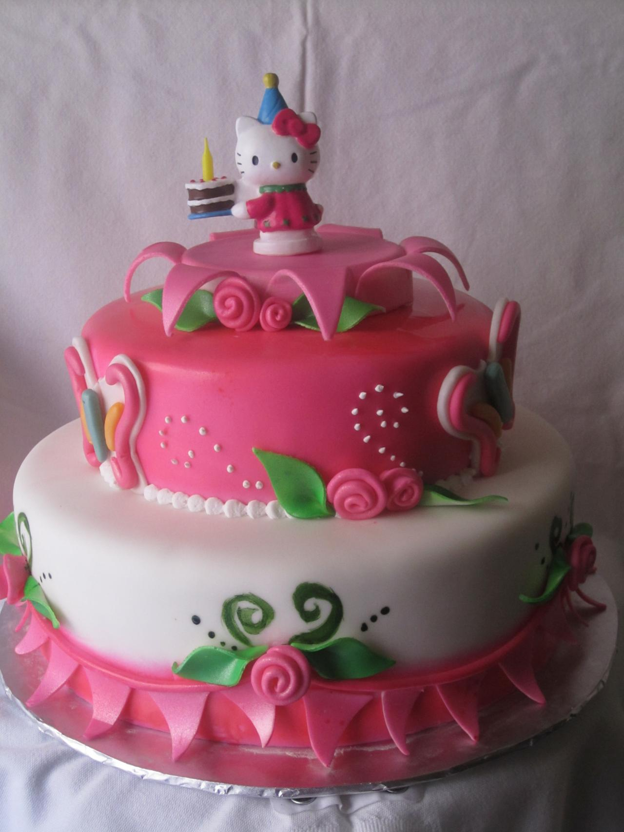 Hello Kitty Cakes Decoration Ideas