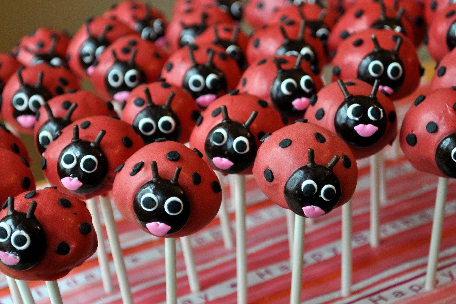 Ladybug Cakes Decoration Ideas