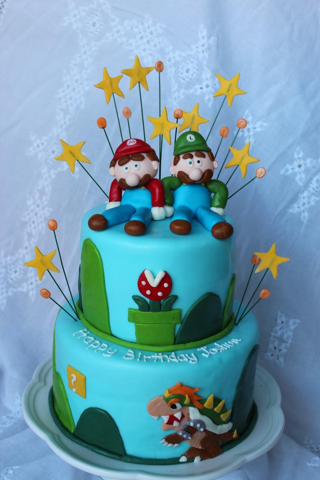 Mario Cakes Decoration Ideas