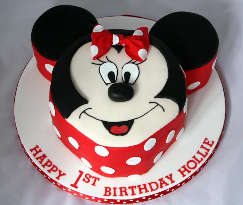 Minnie Mouse Cakes Decoration Ideas Little Birthday Cakes