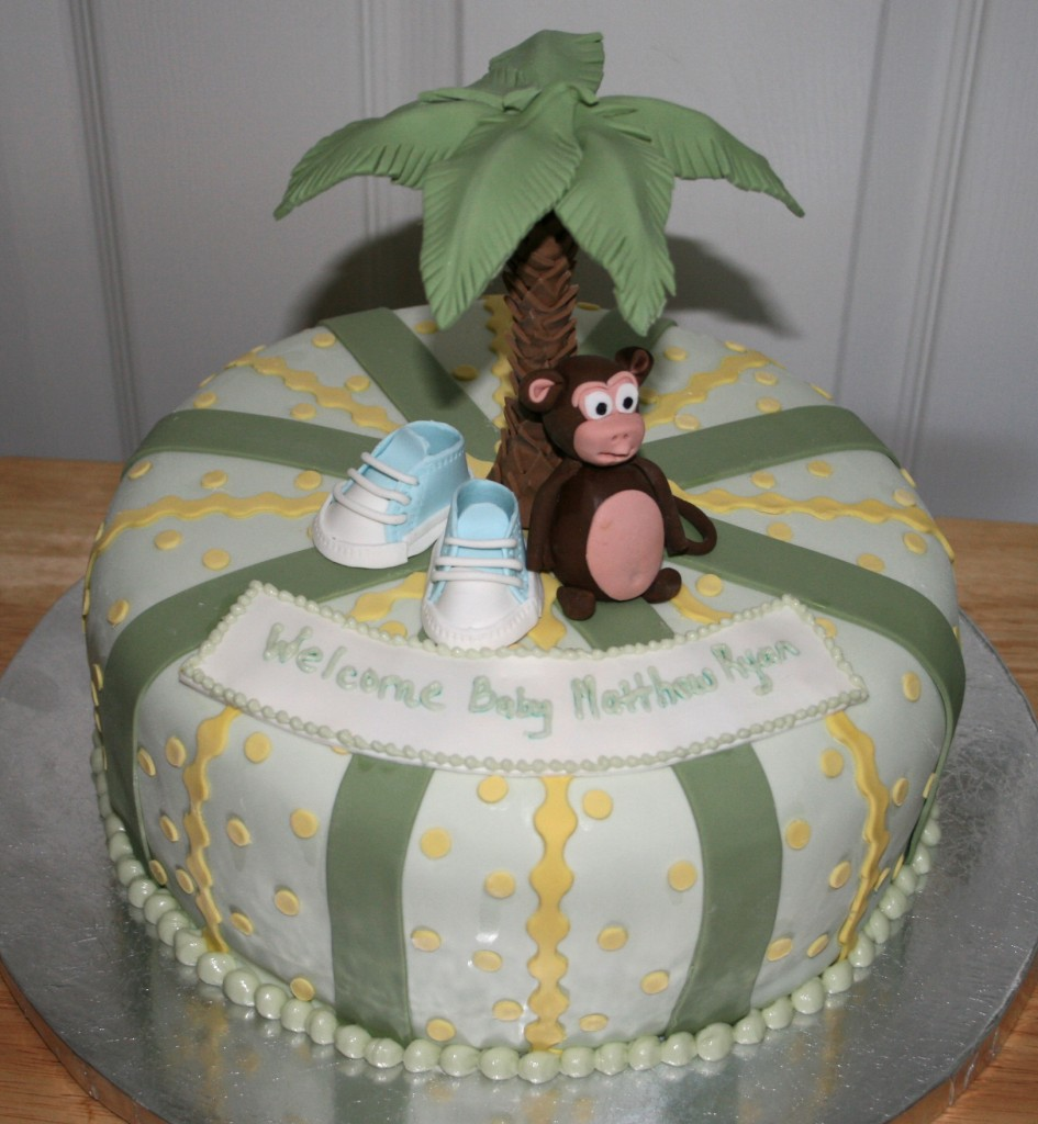 Monkey Cakes Decoration Ideas Little Birthday Cakes
