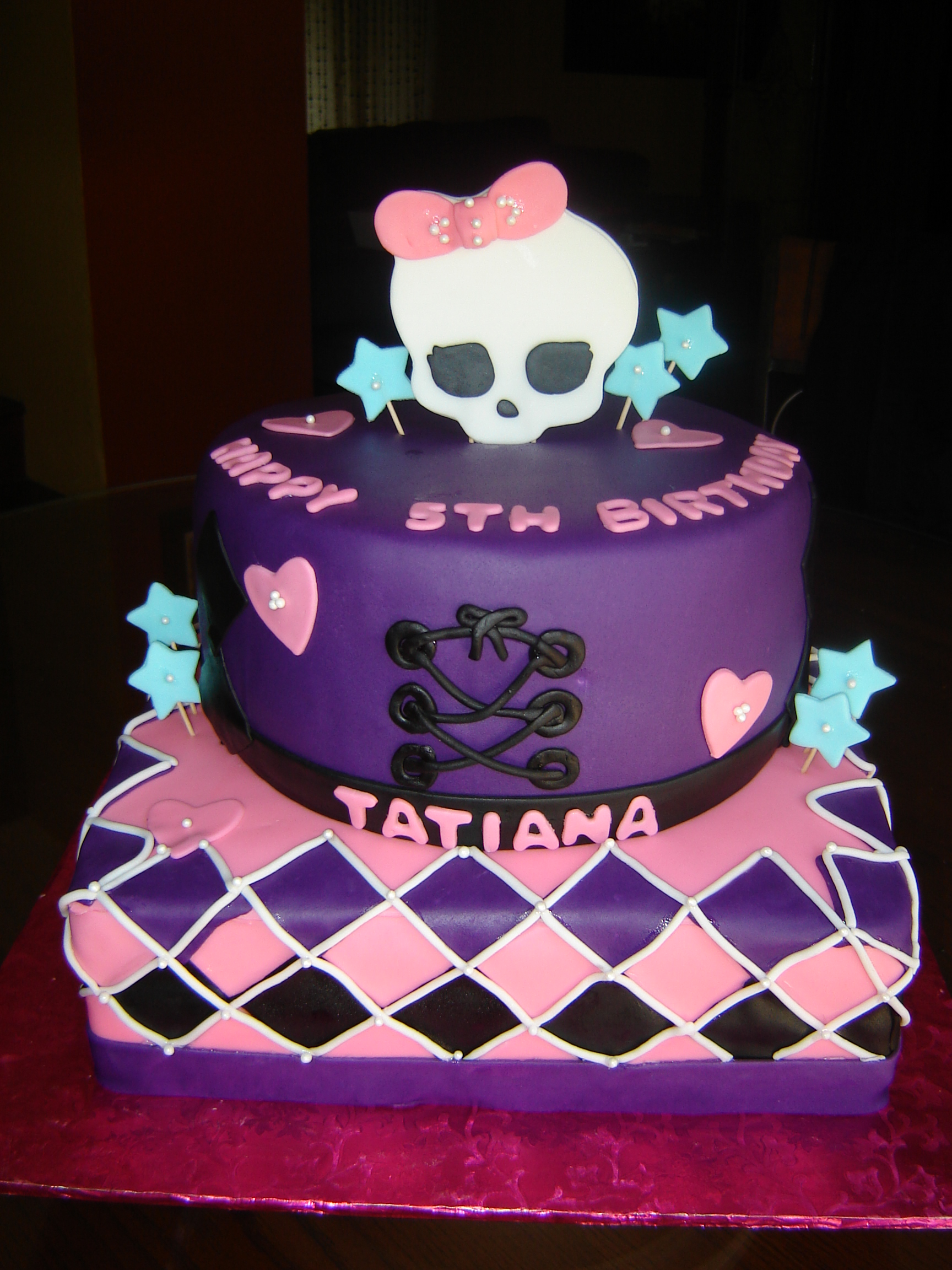Monster High Cakes Decoration Ideas