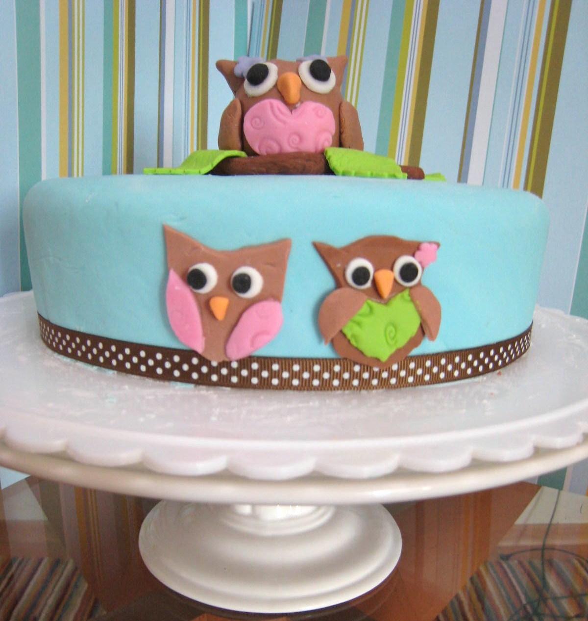 Owl Cakes Decoration Ideas Little Birthday Cakes