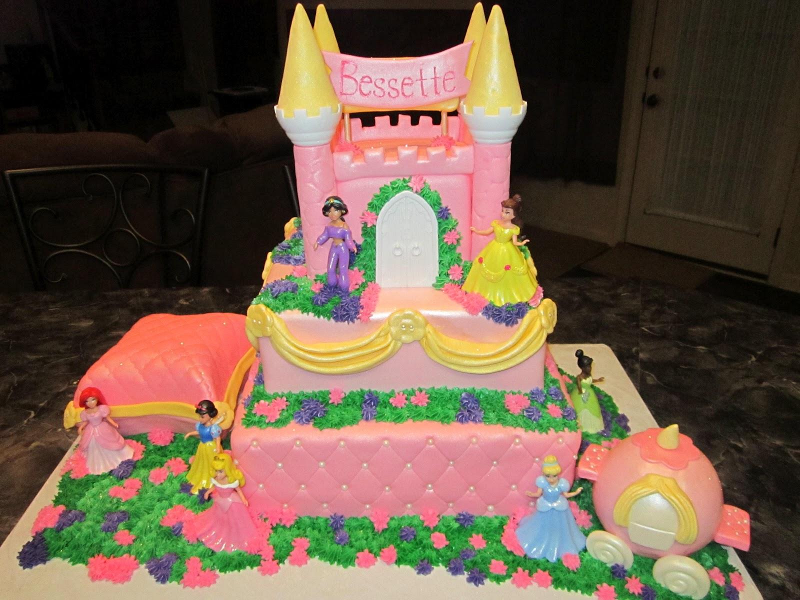 Castle Cakes Decoration Ideas