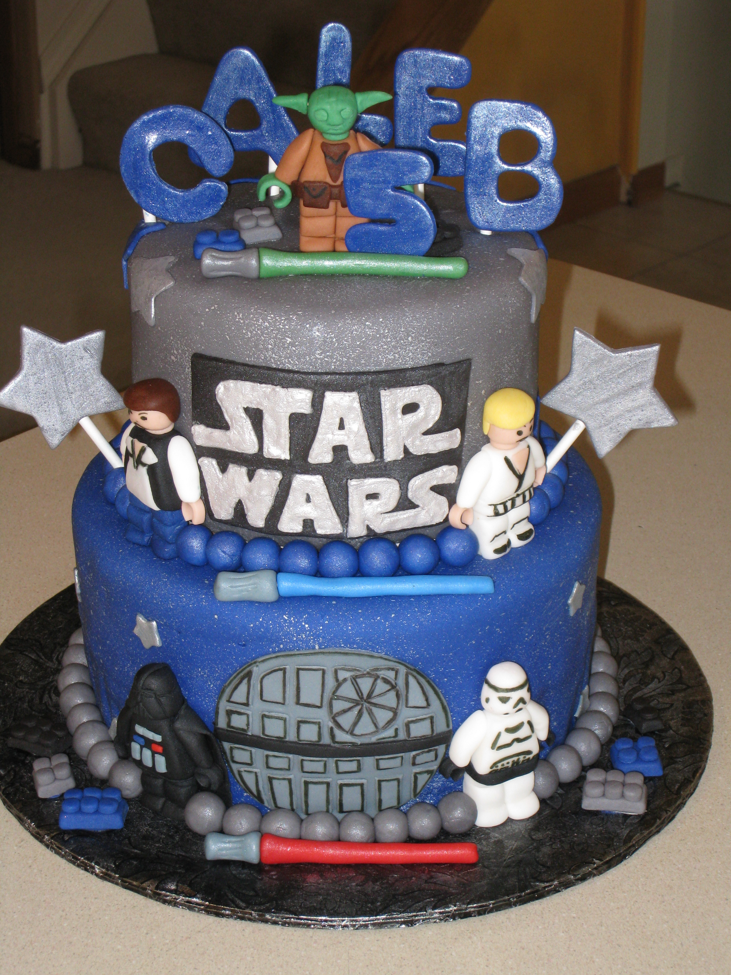 Star Wars Cakes Decoration Ideas