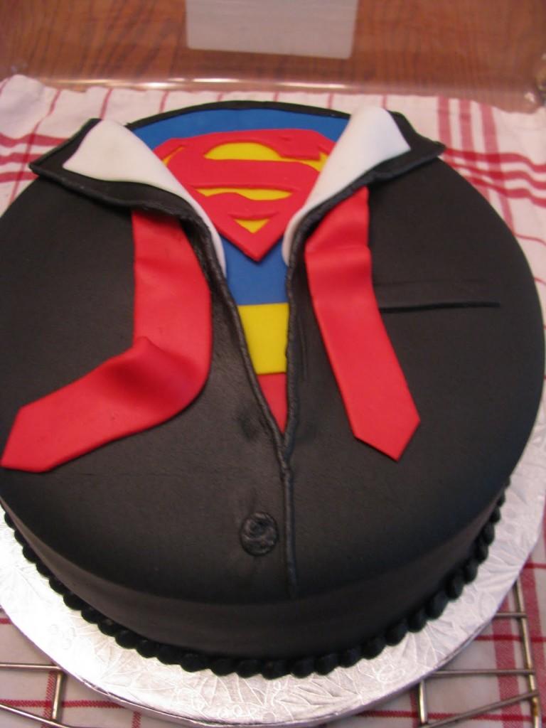 Superman Cakes Decoration Ideas Little Birthday Cakes