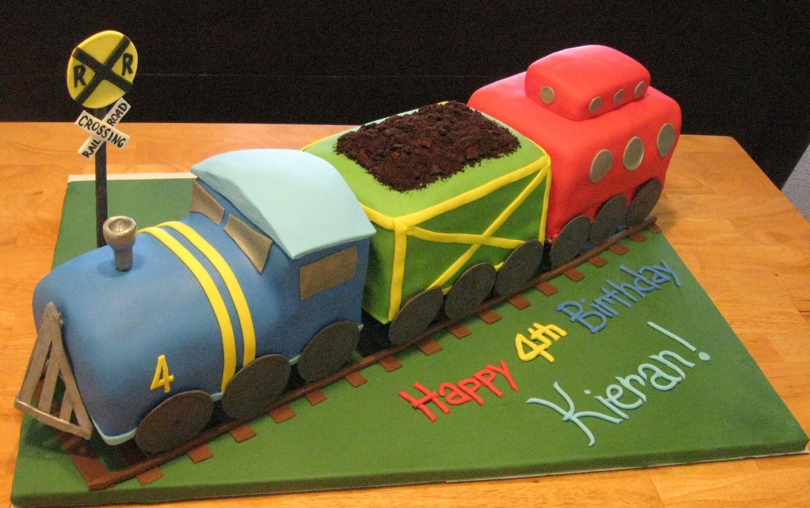 Train Cakes Decoration Ideas