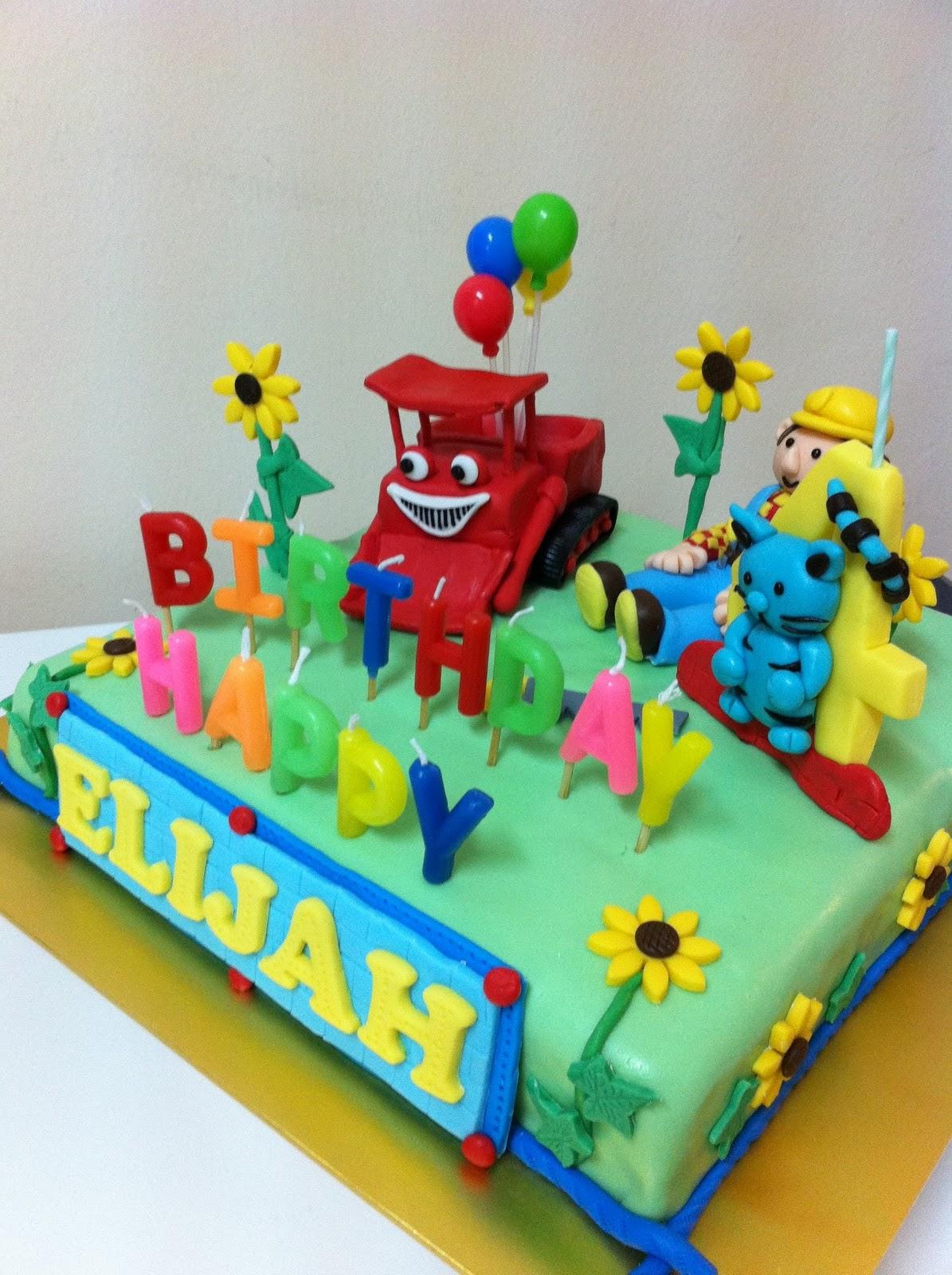 Bob The Builder Cakes Decoration Ideas Little Birthday