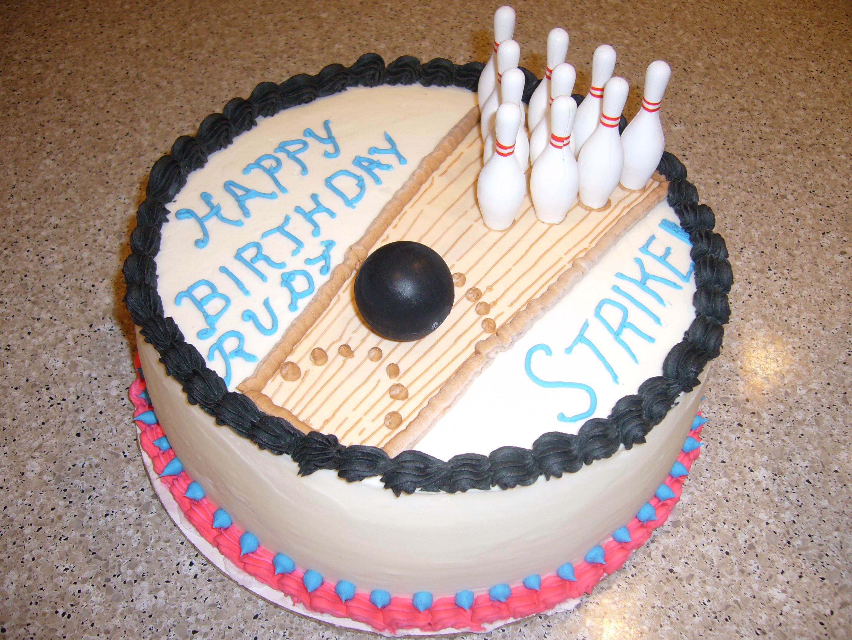 Bowling Cakes Decoration Ideas