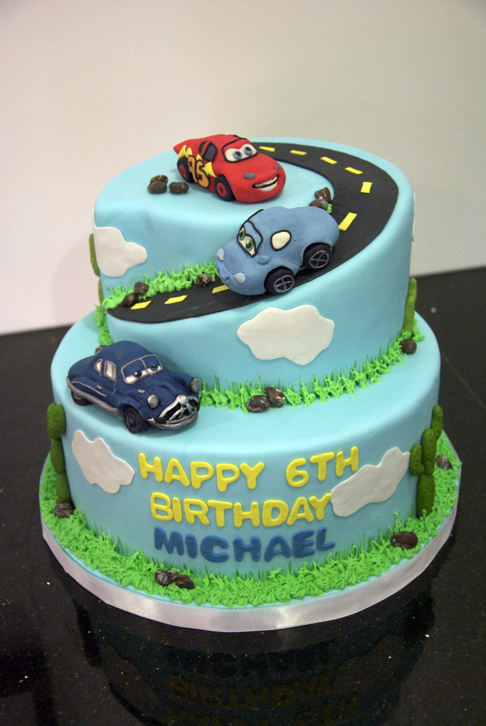 Cars Cakes Decoration Ideas