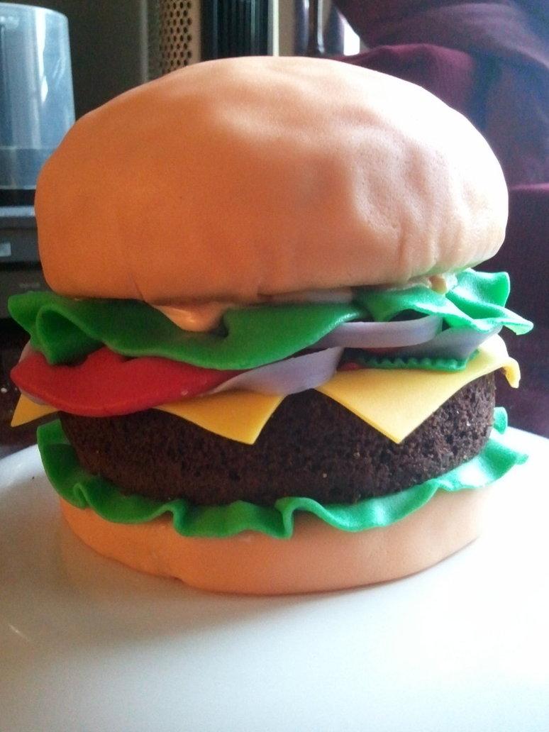 Hamburger Cakes Decoration Ideas Little Birthday Cakes