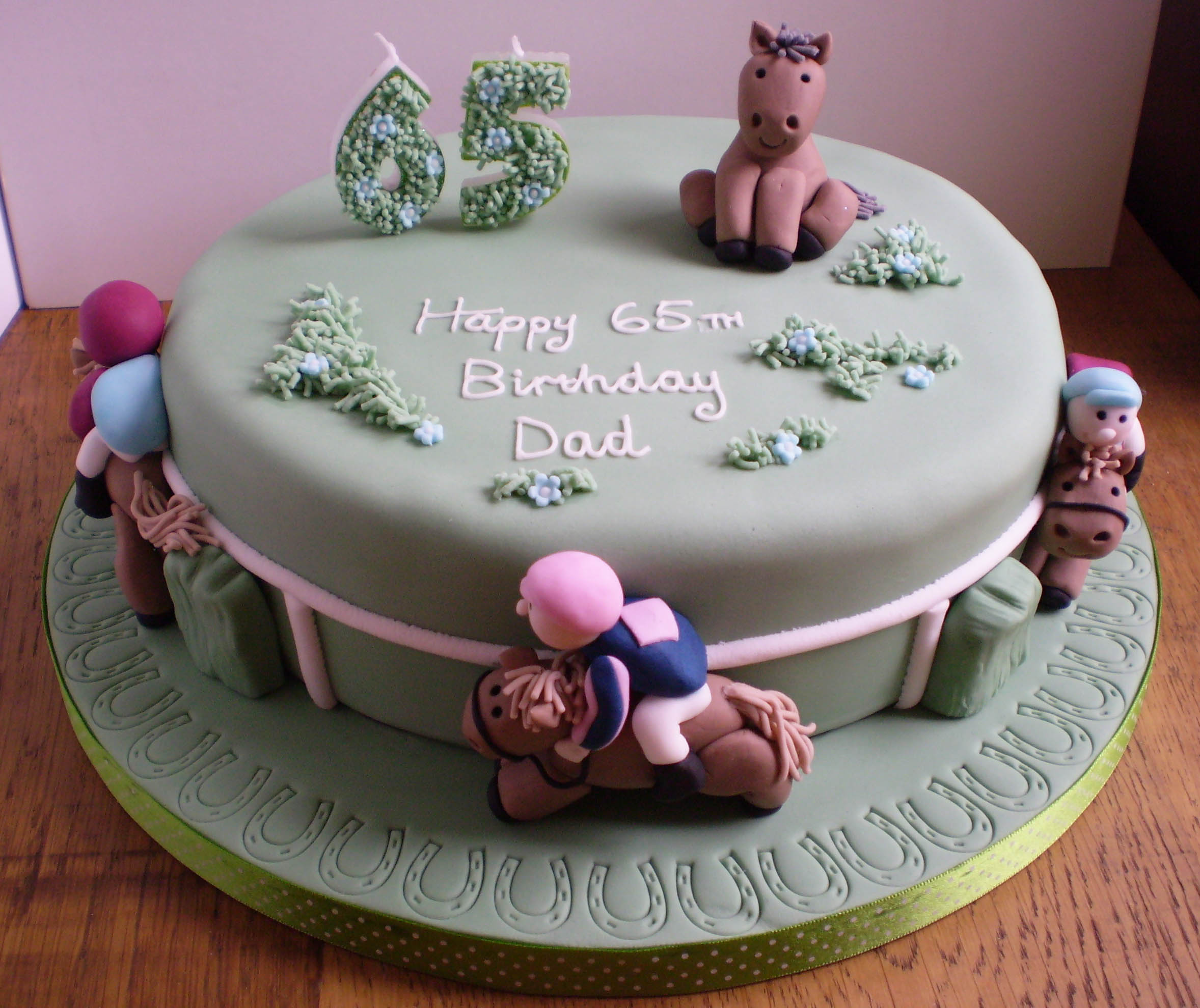 Horse Birthday Cakes Decoration Ideas