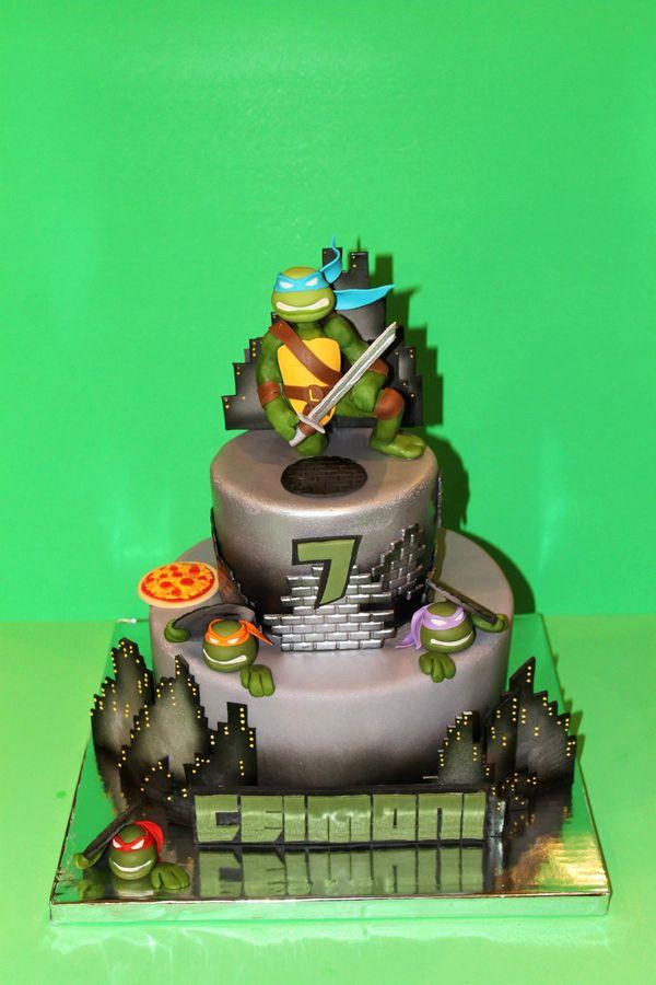 Ninja Turtle Birthday Cake Ideas The Best Cake Of 2018