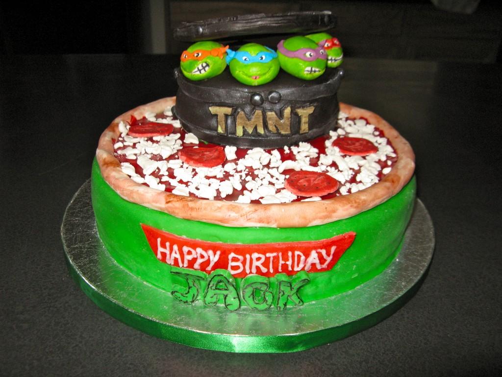 Ninja Turtle Cakes Decoration Ideas