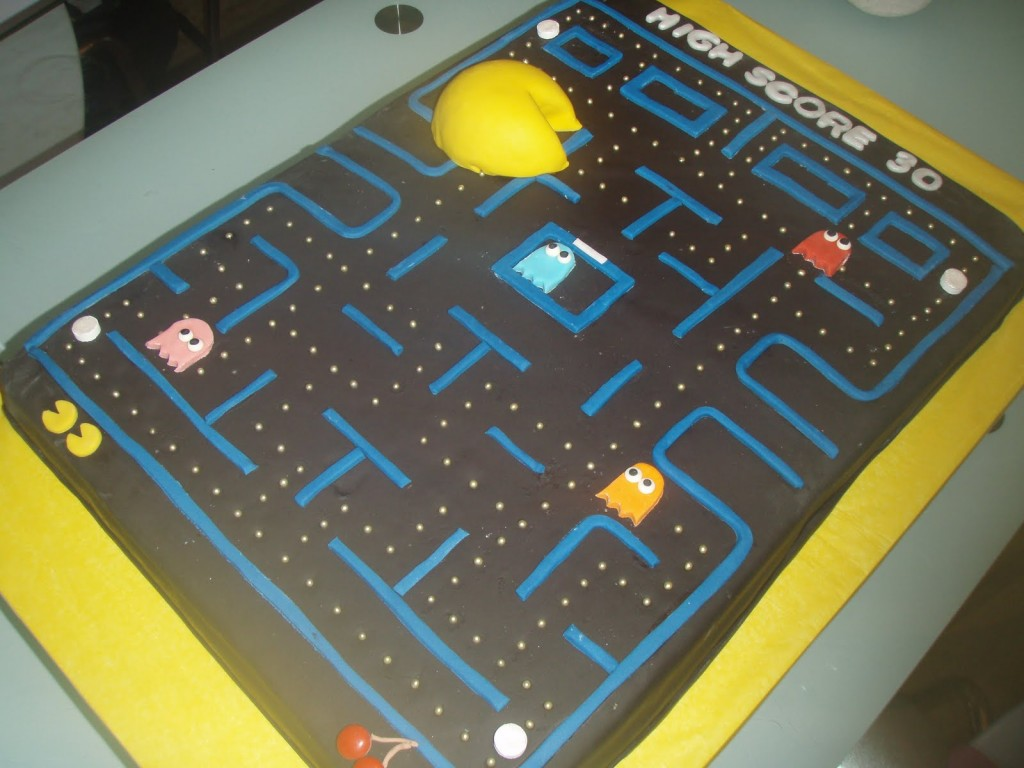 Pacman Cakes Decoration Ideas Little Birthday Cakes