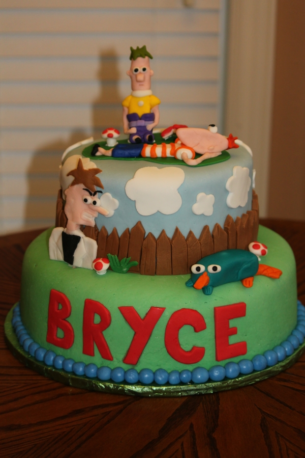 Phineas And Ferb Cakes Decoration Ideas Little