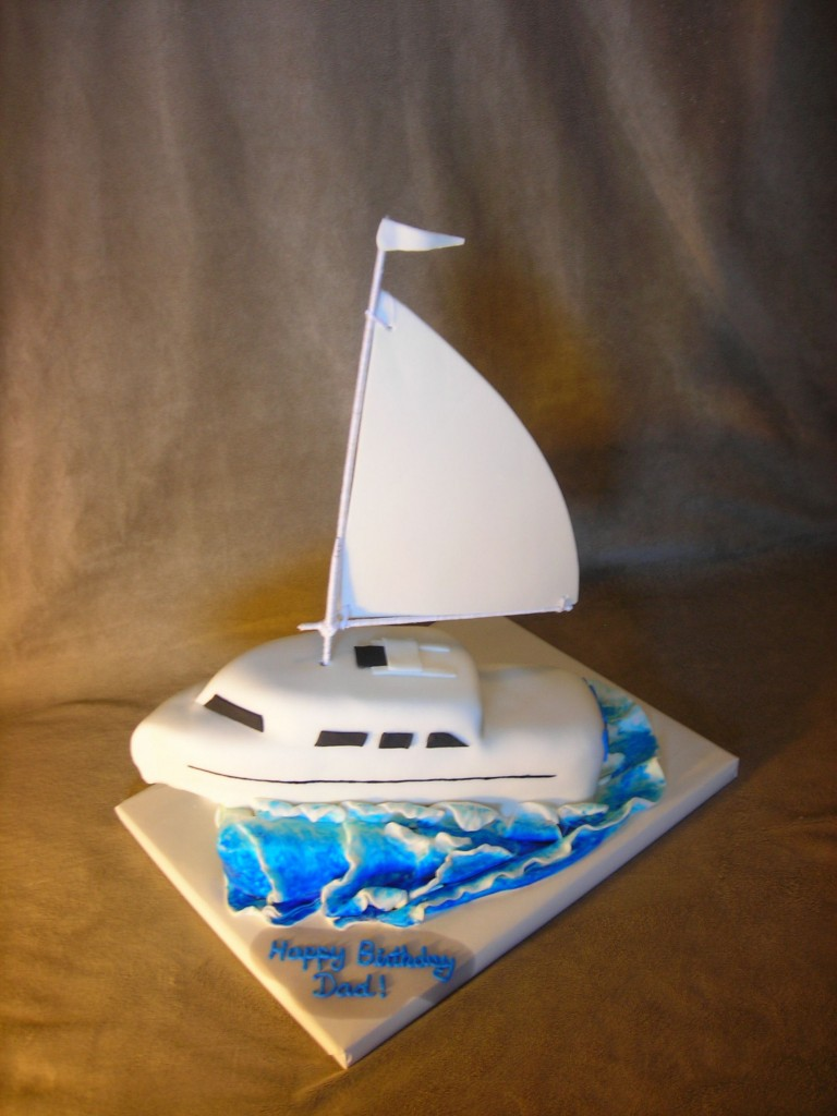 Sailboat Cakes Decoration Ideas Little Birthday Cakes