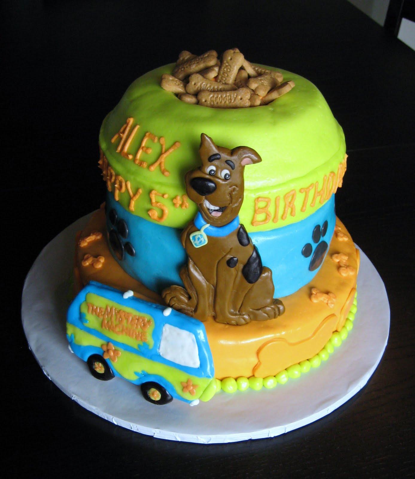 Scooby Doo Cakes Decoration Ideas
