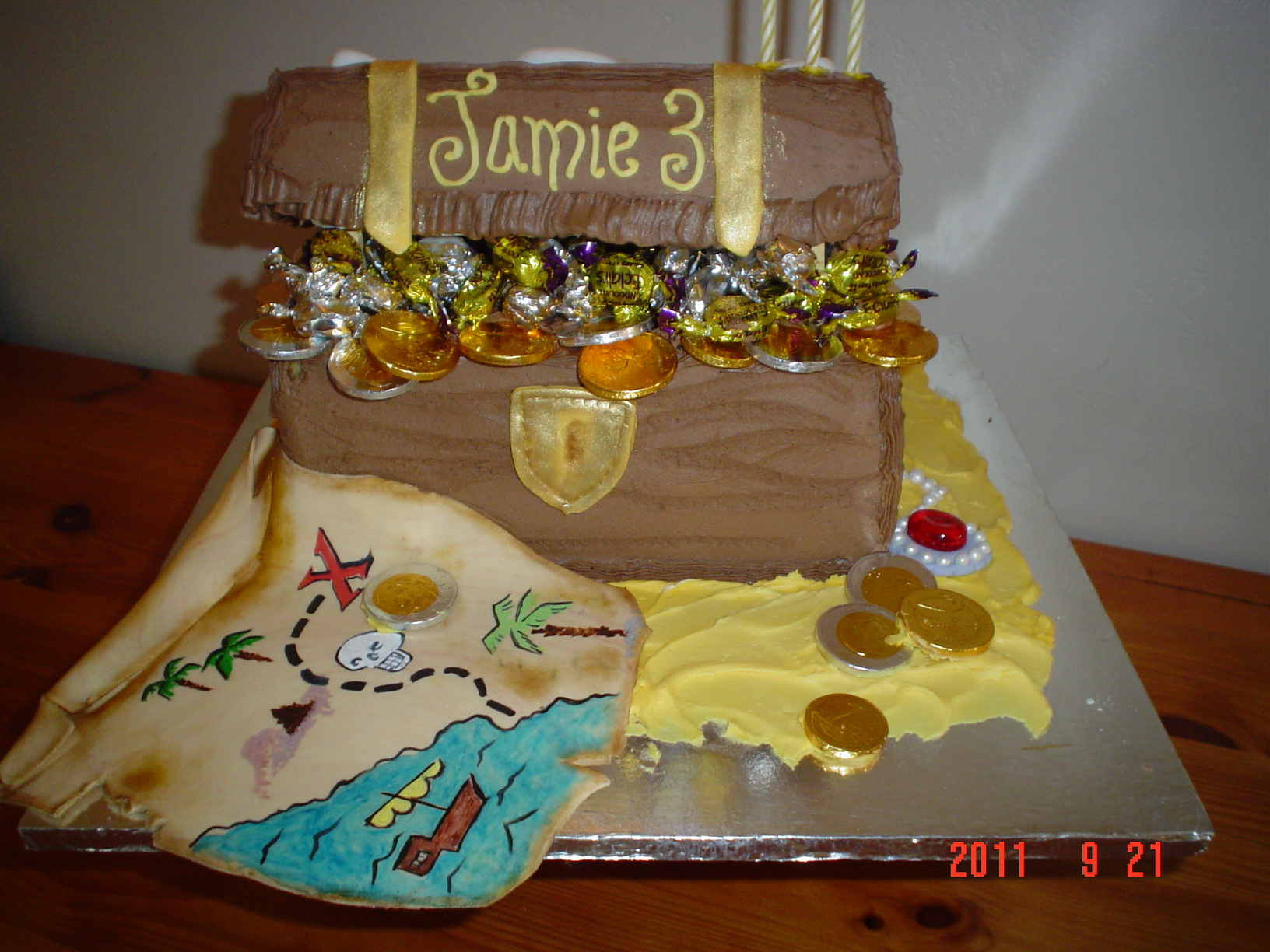 Treasure Chest Cakes Decoration Ideas