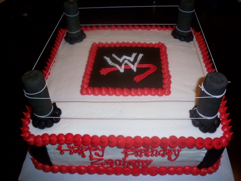 Wwe Cakes Decoration Ideas