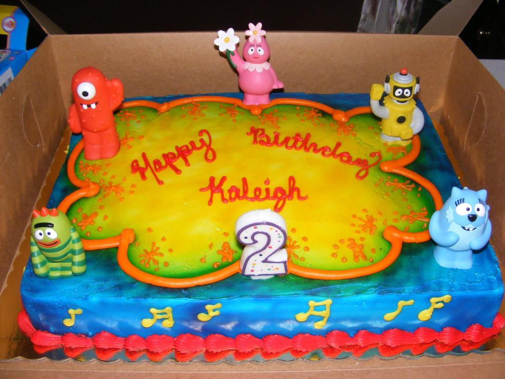 Yo Gabba Gabba Cakes Decoration Ideas