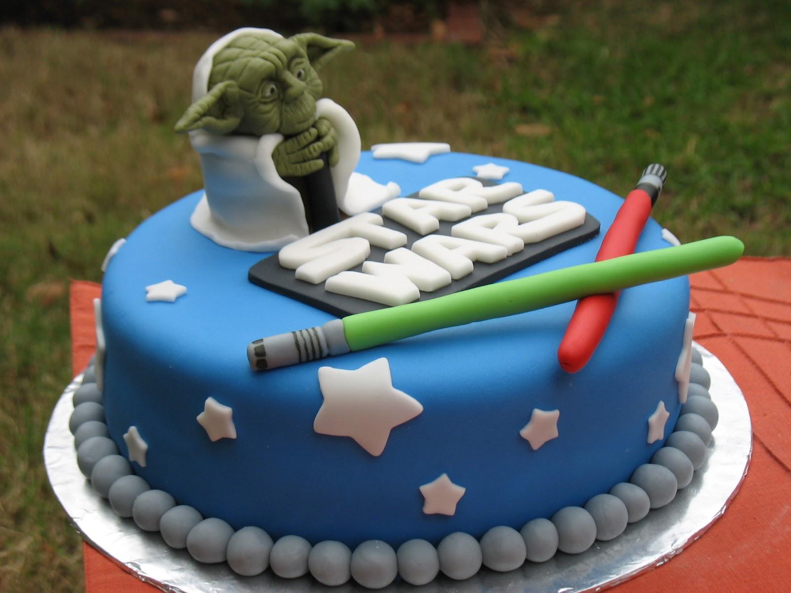 Yoda Cakes Decoration Ideas