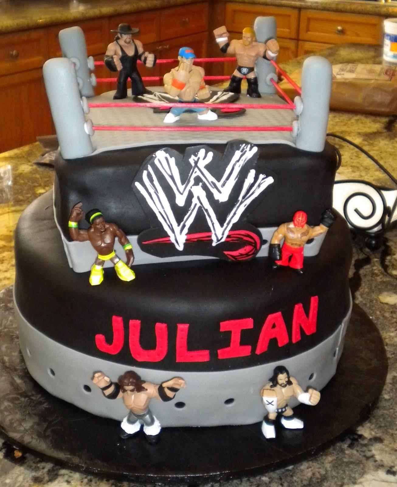 Wwe Cake Ideas For A Birthday