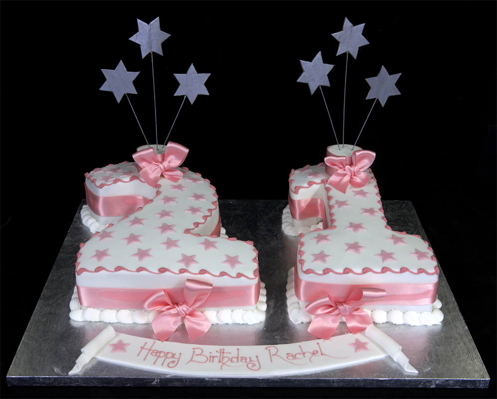 Amazing 21St Birthday Cake Toppers For Her The Cake Boutique Funny Birthday Cards Online Overcheapnameinfo