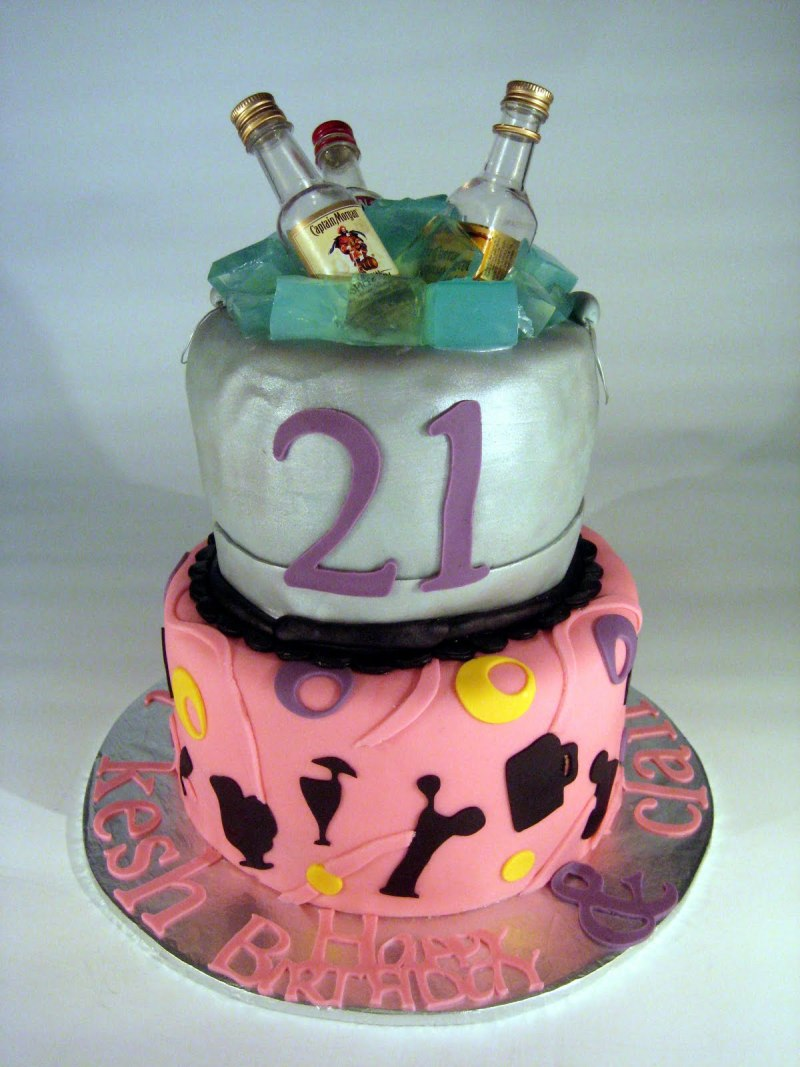 Cake decorating ideas 21st birthday for 21st cake decoration ideas
