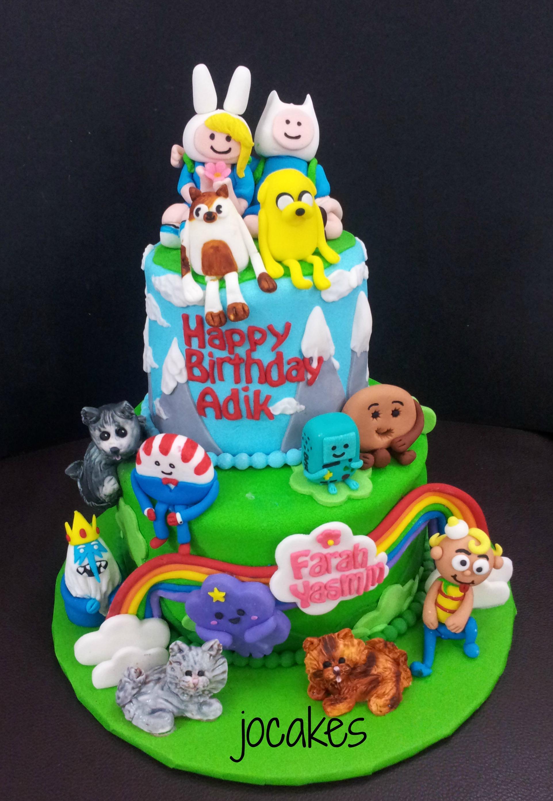 Adventure Time Cakes Decoration Ideas Little Birthday Cakes