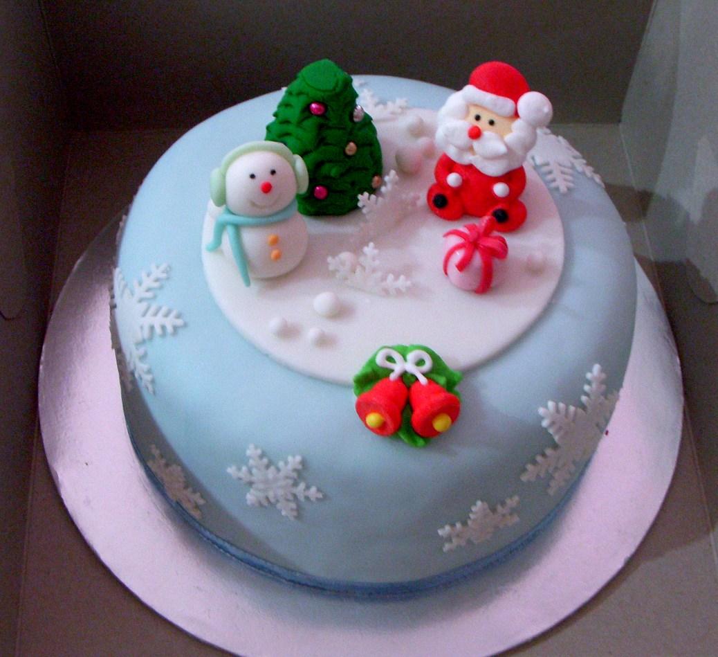 Christmas Cakes Decoration Ideas