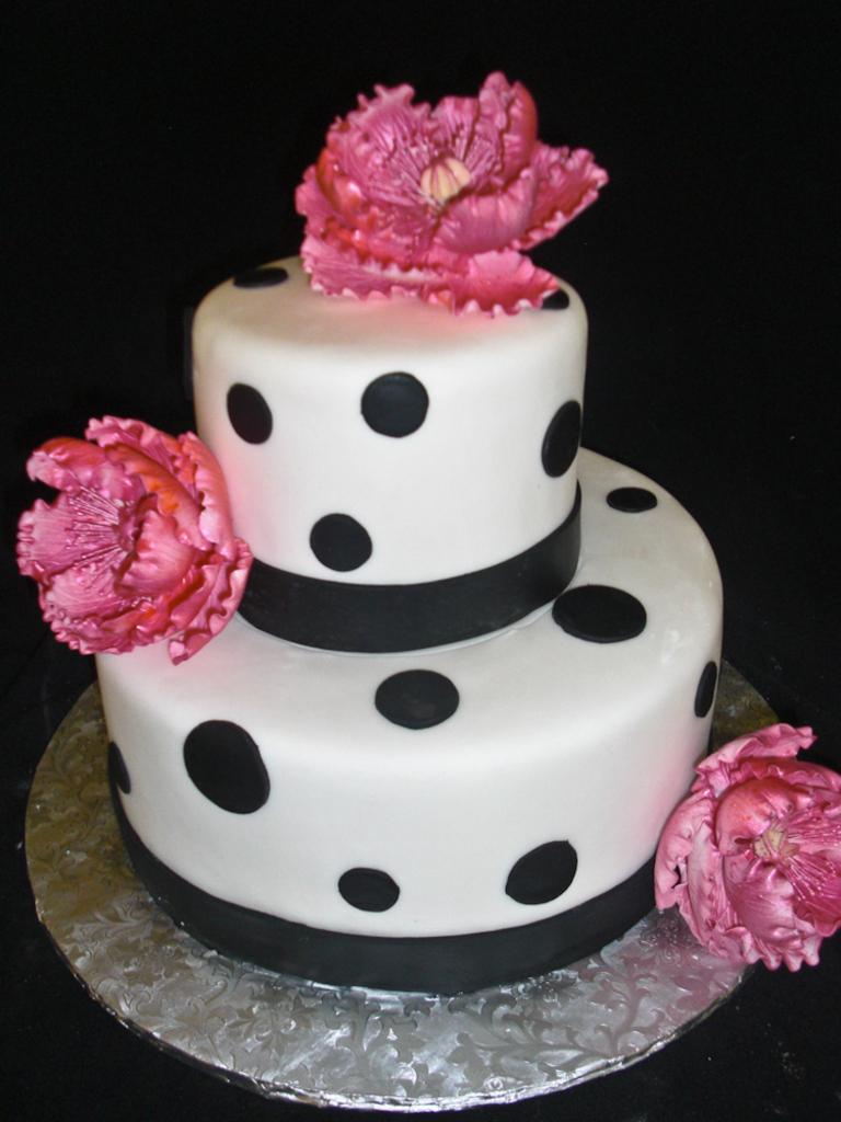 Polka Dot Cakes Decoration Ideas Little Birthday Cakes