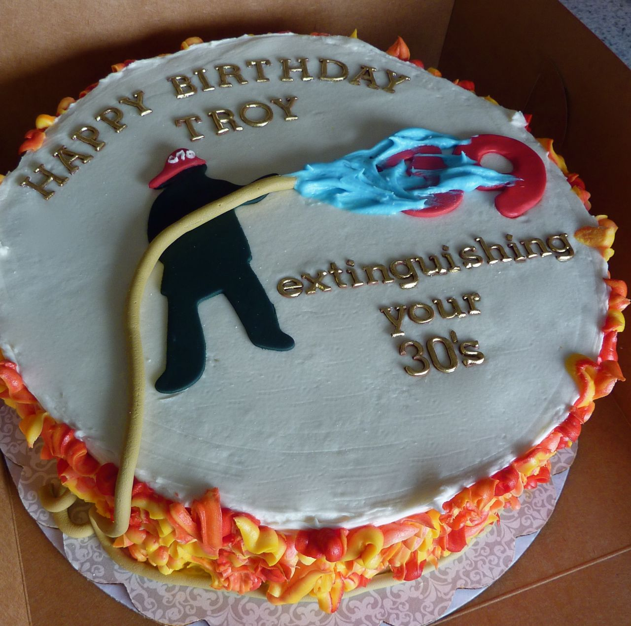 Fireman Cakes Decoration Ideas
