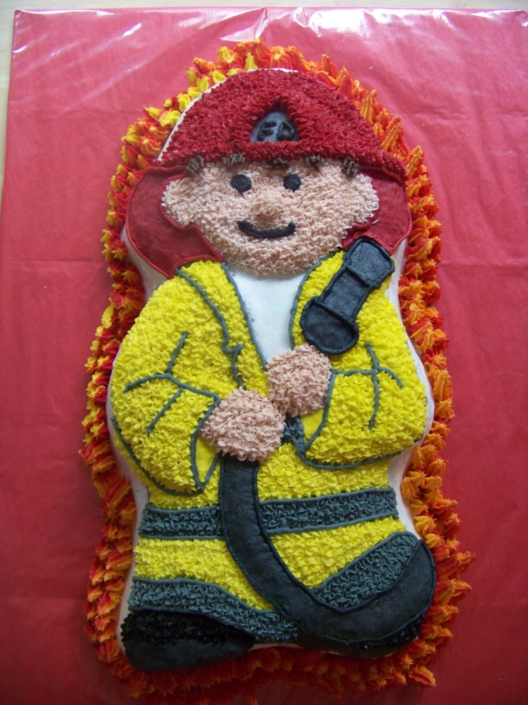 Fireman Cakes Decoration Ideas Little Birthday Cakes