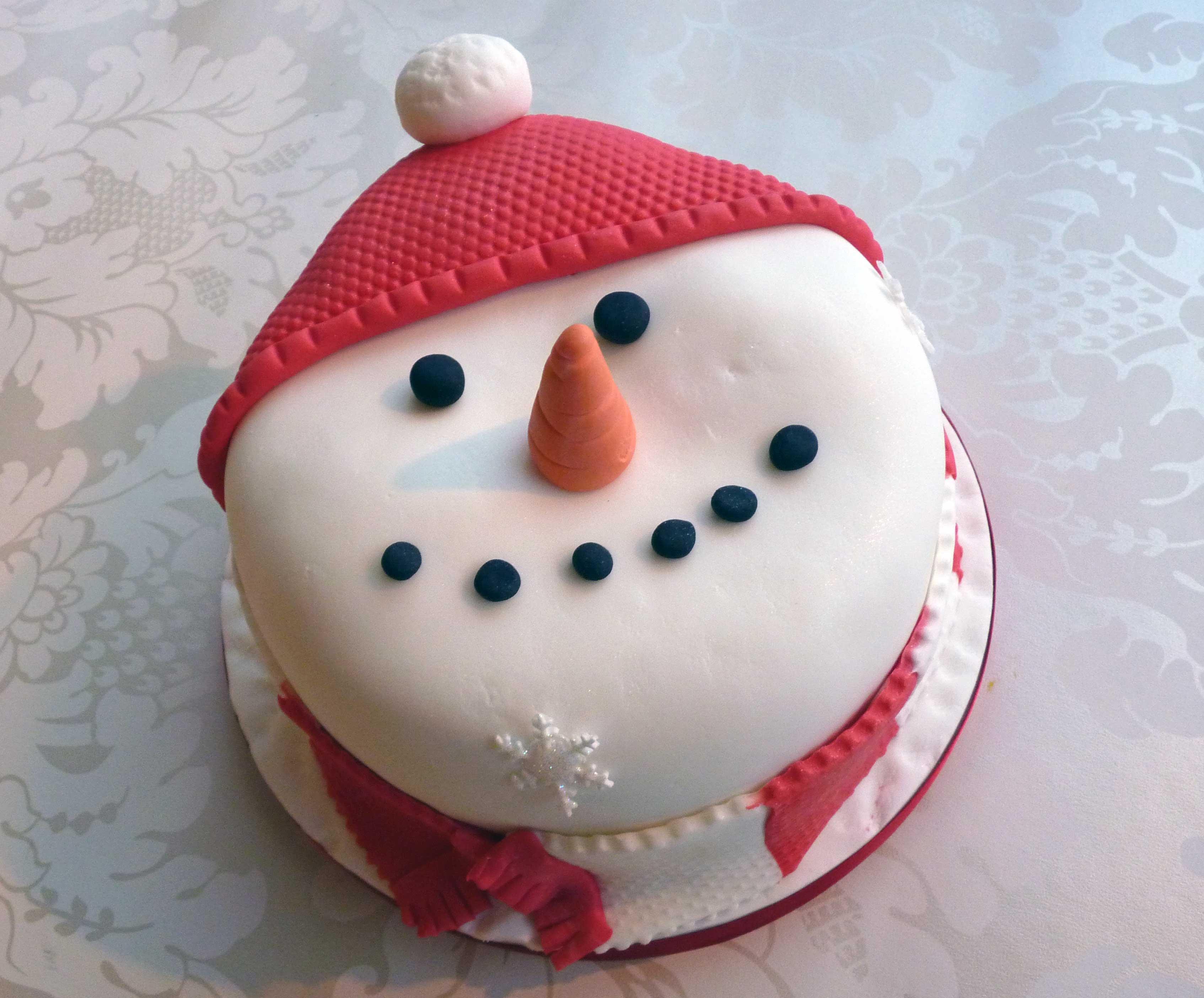 Snowman Cakes Decoration Ideas