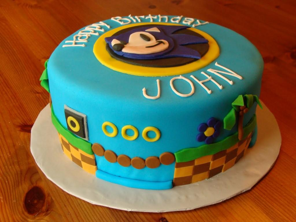 Sonic Cakes Decoration Ideas