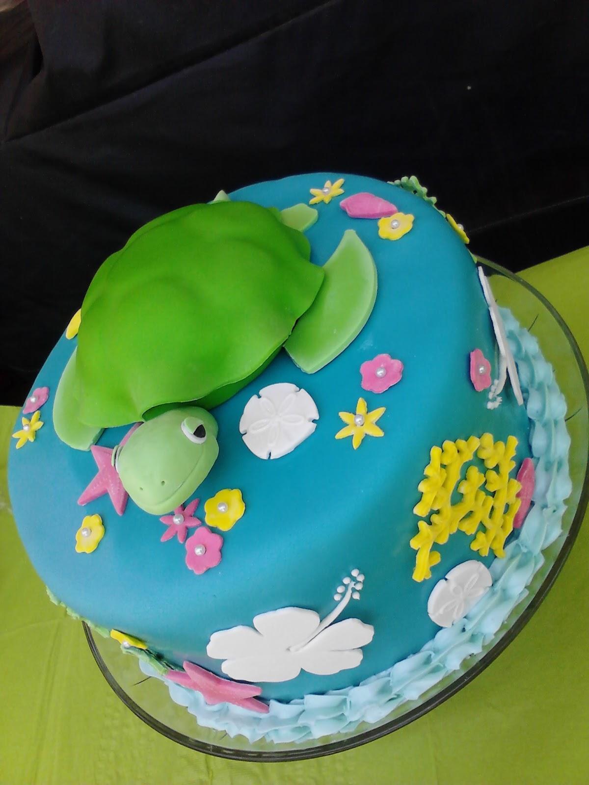 Turtle Cake Decoration Ideas