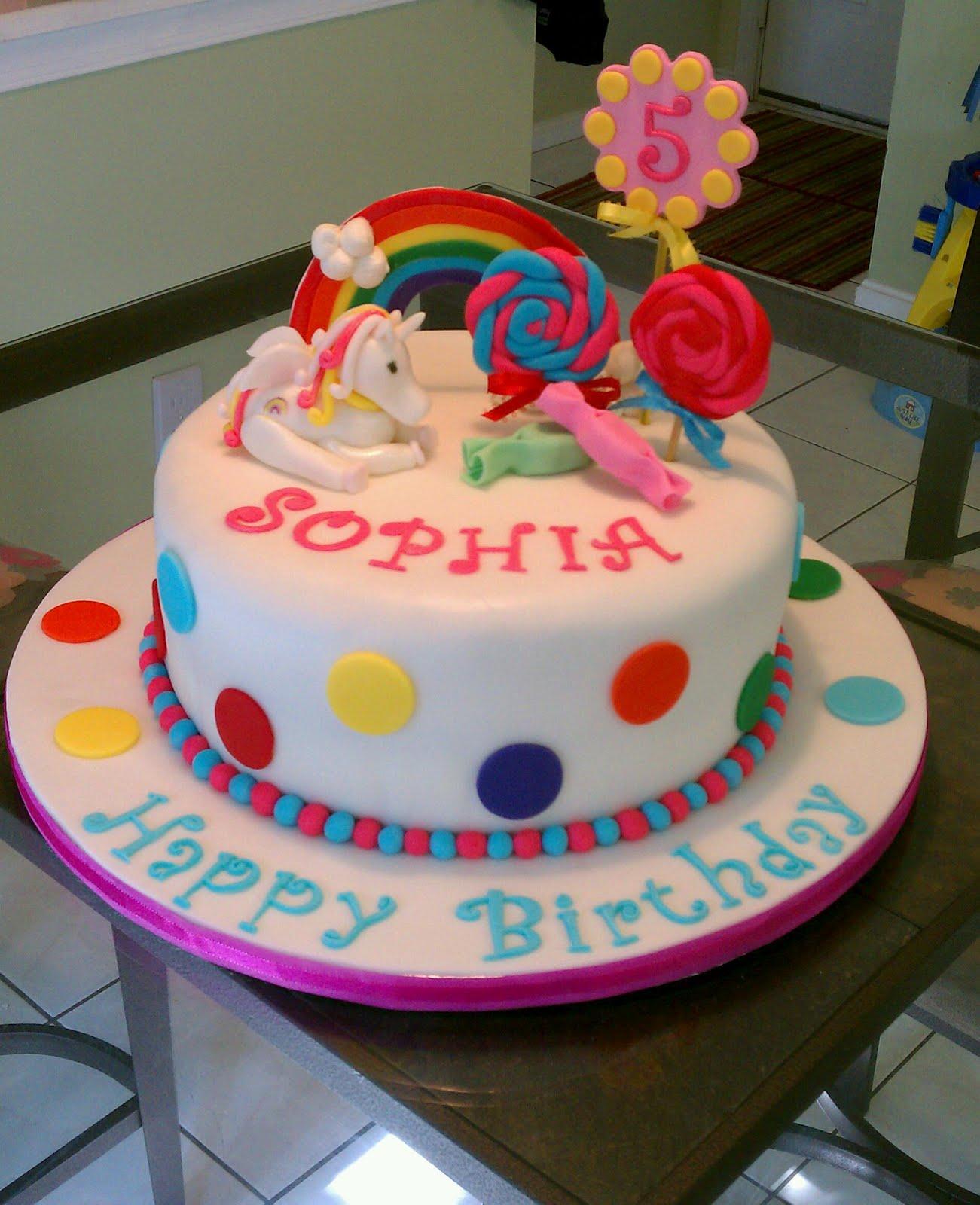 Unicorn Cakes Decoration Ideas
