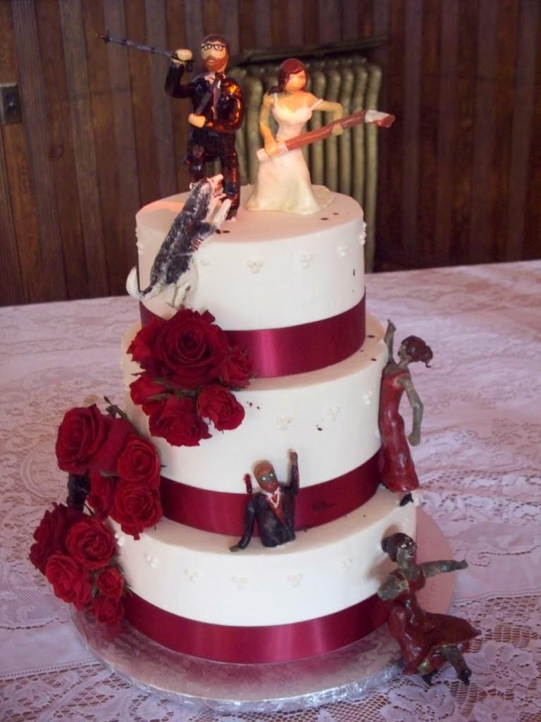 Zombie Wedding Cakes Decoration Ideas Little Birthday