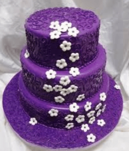 Purple wedding cakes     Decoration ideas   Little Birthday Cakes purple wedding cakes