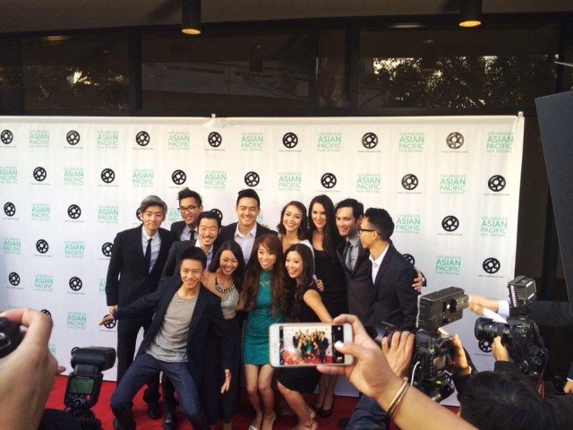 Wong Fu Family on the Red Carpet