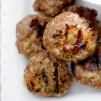 Mini Pork Burgers