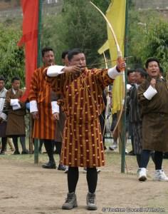 Bhutanese traditional dress Gho