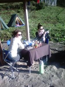 Angie & Jasmine on Druk Path Trek 03