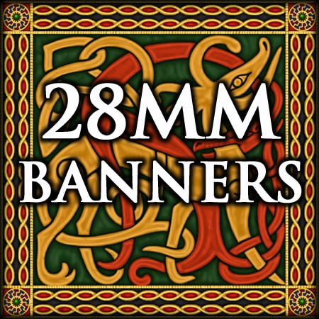 28mm banner sheets