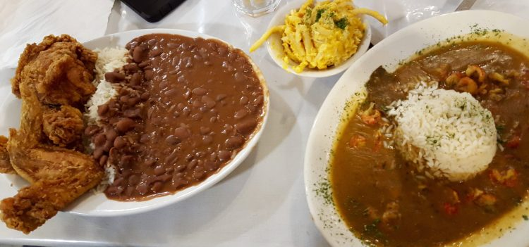 Red Beans and Rice and Etoufee