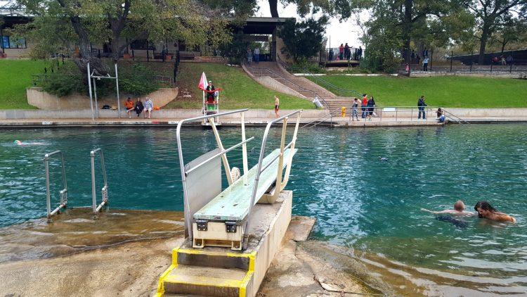 Barton Springs in Austin Texas