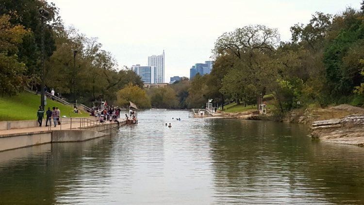Barton Springs in Zilker Park, Austin Texas
