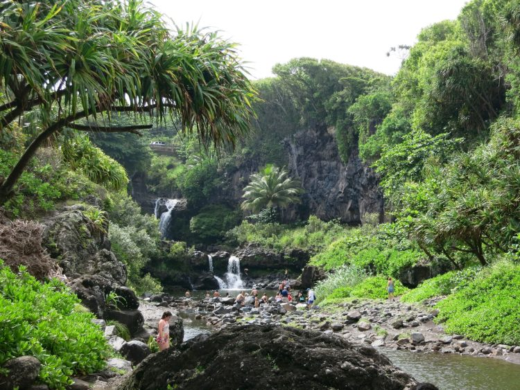 Seven Sacred Pools in Haleakala National Park